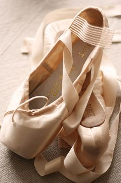 Ballet shoes    By @Stephanie Close Close Close Close Parsons Twirl