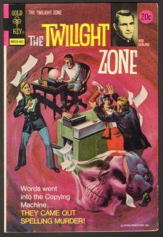 The Twilight Zone Comic #54  Publisher: Gold Key Comics  Date: January 1974