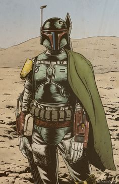 The Good The Bad and the Fett by Albert Nguyen on @deviantART
