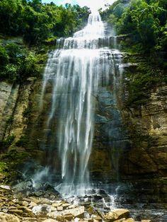 Cachoeira Salto São Sebastião em Prudentópolis Paraná