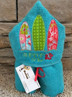 Kids Personalized Hooded Towels by Madeformonkeys on Etsy, $25.00 Kids Hooded Towels, Toddler Themes, Baby Sewing, Event Decor, Hand Towels, Machine Embroidery, Hoods, Infant, Theme Bedrooms