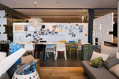 The studio of PATRICIA Urquiola via inoutdesignblog.com