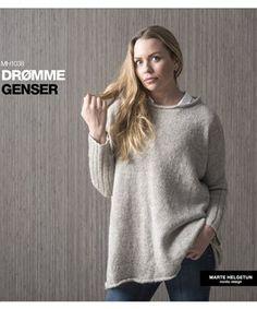 Nedlastbare Oppskrifter - Nettbutikk - Design by Marte Helgetun Knitting Designs, Knit Crochet, Vest, Turtle Neck, Pullover, My Style, Sweaters, Clothes, Women
