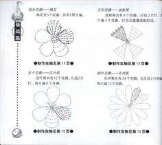 flores crochet ganchillo - AZU -- - Picasa Web Albums