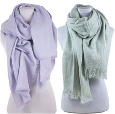 "Women Soft Oversized Scarf Wrap Frilled Edges 24"" X 72"" NWT Available 2 colors #Simi #Scarf #Everyday"