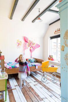 Whimsical girl's room