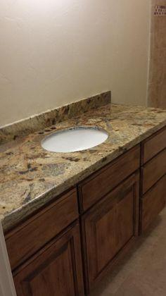 Granite vanity by R & S Marble