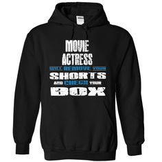 MOVIE ACTRESS Will Remove Your Shorts And Check Your Box T-Shirts, Hoodies. SHOPPING NOW ==► https://www.sunfrog.com/LifeStyle/MOVIE-ACTRESS--CHECK-1418-Black-6844166-Hoodie.html?id=41382