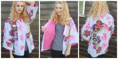 so happy with the final outcome of my 20th century Frida Kahlo inspired kimono jacket. Modelled by the beautiful @Georgia