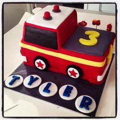 Fire engine cake @Shelia Childress baked my cake