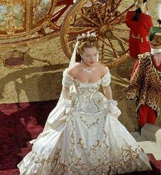 Sissi in Hongarije wanneer ze net gekroond is tot koningin van Hongarije