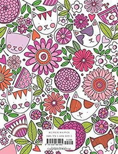 Posh Adult Coloring Book: Cats and Flowers for Fun & Relaxation (Volume Adult Coloring, Coloring Books, Susan Black, Black Books, Relax, Amazon, Cats, Flowers, Fun