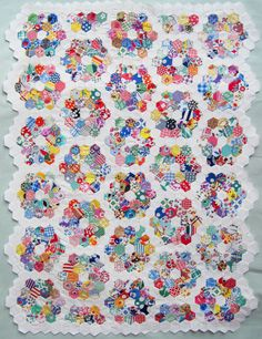 grandma's flower garden quilt pattern | ... » Blog Archive » Grandmother's Flower Garden Doll Quilt Top
