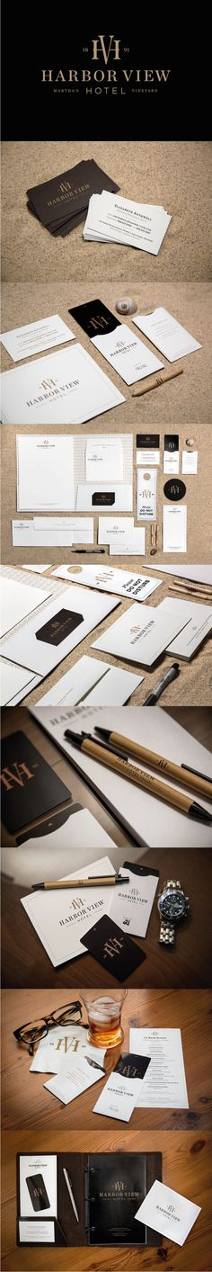 Cool Brand Identity Design on the Internet. Harbor View. #branding #brandidentity #identitydesign @ http://www.pinterest.com/alfredchong/brand-identity/