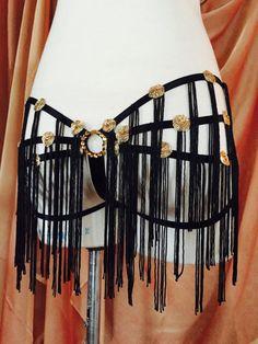Feather Deco Diva - Burlesque Showgirl Costume