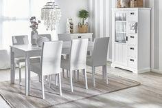 ANNA-ruokapöytä ja 6 LENA-tuolia. #sisustusidea #sisustaminen #sisustusinspiraatio #askohuonekalut #sisustusidea #sisustusideat