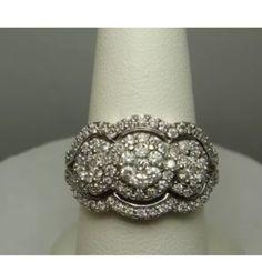 Gorgeous 1.10 carat 14k gold diamond ring Gorgeous 1.10 carat 14k gold diamond ring Jewelry Rings
