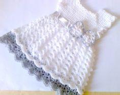 patrón de vestido de bebé vestido del bebé del por paintcrochet