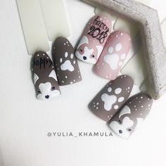 # # brilho # Ano # Thisтом Este ano, no auge de . Animal Nail Designs, Animal Nail Art, Nail Polish Designs, Nail Art Designs, Pretty Nail Art, Cute Nail Art, Holiday Nails, Christmas Nails, Nail Art Noel