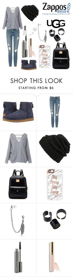 """""""The Icon Perfected: UGG Classic II Contest Entry"""" by alita210100 on Polyvore featuring moda, UGG, Frame Denim, Leith, Casetify, Bling Jewelry, MAC Cosmetics, Beautycounter, ugg y contestentry"""