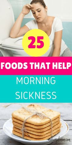 How to help morning sickness. Morning sickness remedies that bust first trimester nausea. Here are over 25 foods you can eat (or add to a drink) to help fight the nausea. Pregnancy First Trimester, Trimesters Of Pregnancy, Pregnancy Care, Pregnancy Health, Pregnancy Foods, Early Pregnancy, Pregnancy Nutrition, Pregnancy Advice, Pregnancy Morning Sickness