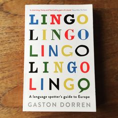 Time for a  and look at Lingo by Gaston Dorren. Really excited. Anyone read it? #lingo #gastondorren #european #languages #newbook #babel #babelbabies #multilingual #instalanguages #lovelanguages #coffeebreak