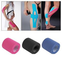 5cm x 5m Sports Muscle Stickers Tape Roll Cotton Elastic Adhesive Muscle Bandage Strain Injury Support #Affiliate
