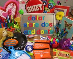 Let these dollar-store savvy teachers help you save (and not waste!) your hard-earned money with this guide on what to buy, and what you might want to think twice about before purchasing. - DIY Home Project Classroom Organisation, Teacher Organization, Classroom Design, Future Classroom, School Classroom, Classroom Decor, Classroom Management, Dollar Tree Classroom, Classroom Solutions