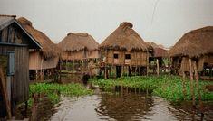 Ganvie is a lake village in Benin.