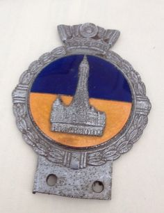 Blackpool Car Badge with Blue & Gold Enamelling in Vehicle Parts & Accessories, Car Parts, Exterior & Body Parts | eBay