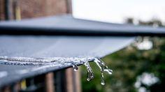 Seonnensegel aufrollbar in regendicht