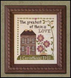 FIRST CORINTHIANS  Little House Needleworks  by NeedleCaseGoodies