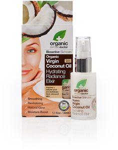 Organic Doctor Virgin Coconut Oil Hydrating Radiance Elixir - NIB Retail $22. Sale $12 including shipping.