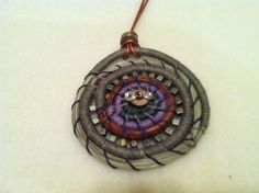 another pine needle pendant