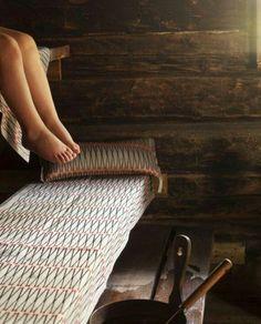 Finnish sauna textiles, linen