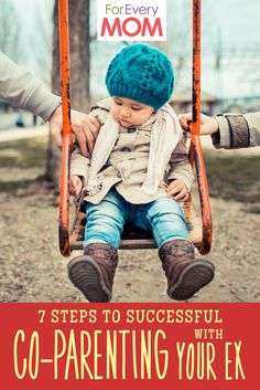 Such great insight from a blended family that successfully and peacefully co-parents their daughter. 7 steps to co-parenting with your ex.