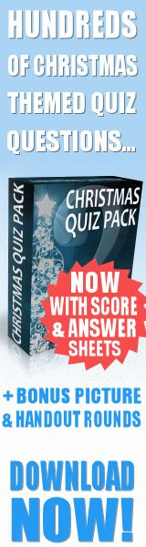 Christmas Quiz Questions