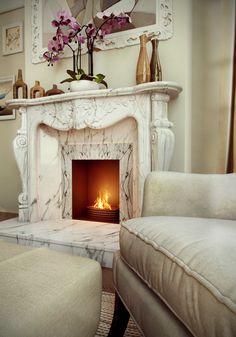 Pampigt. Tänk att designa en egen eldstad som denna.