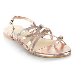 Faith gold sandals