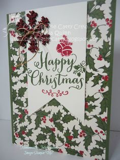 handmade by Julia Quinn - Independent Stampin' Up! Demonstrator: CASEing the Catty Into the Woods