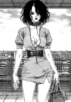 Boichi Manga, Manga Girl, Anime Art Girl, Old Anime, Dark Anime, Aesthetic Art, Aesthetic Anime, Yazawa Ai, Sun Ken Rock