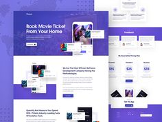 App Landing Page by Ofspace Team Website Layout, Web Layout, Design Layouts, App Landing Page, Landing Page Design, Flat Web Design, App Design, Mobile Design, Landing Page Inspiration