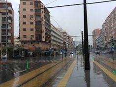 Llueve en #Murcia por #SemanaSanta.  Dando la bienvenida a la #primavera!