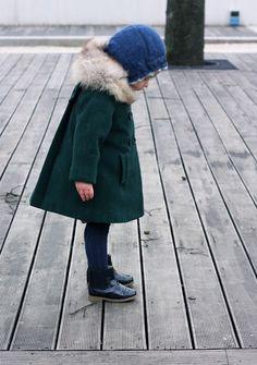 child's wool coat | Vivi & Oli-Baby Fashion Life