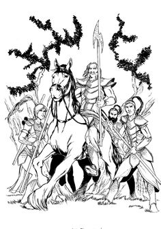 Tales from Oz: Good Dog # 1 pag. 5 Original Art Comic Art