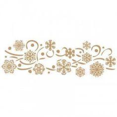 Stencil Deco Fiesta 007 Navidad Flores