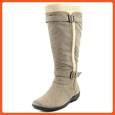 Frost Wide Calf Women US 6 Tan Winter Boot UK 4 EU 36