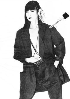 Yamaguchi, Japanese Geisha, Japanese Models, Japan Fashion, 80s Fashion, Beatnik, Boyish, Style Icons, Supermodels