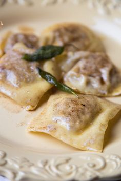 Chestnut and Pear Ravioli | OurItalianTable.com