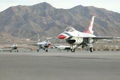 Thunderbirds Taxying